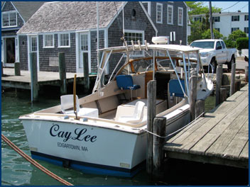 Charter Fishing Boat Cay Lee
